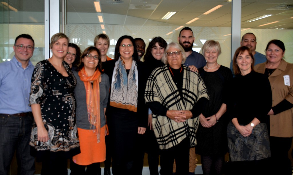 Guests from James Cook University visit the CREATE Methods Group in Adelaide to share knowledge and information - May 2015.